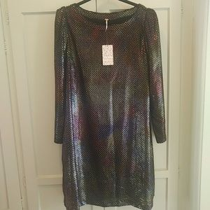 Free People Diamonds are Forever Dress M